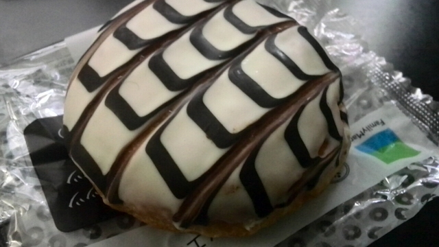 ヘーゼルナッツチョコドーナツ