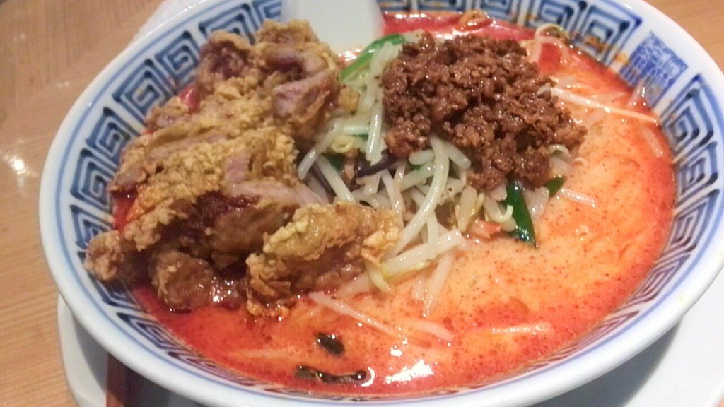 排骨担々麺
